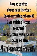 I am so excited about next life-time