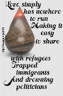Love simply has nowhere to run