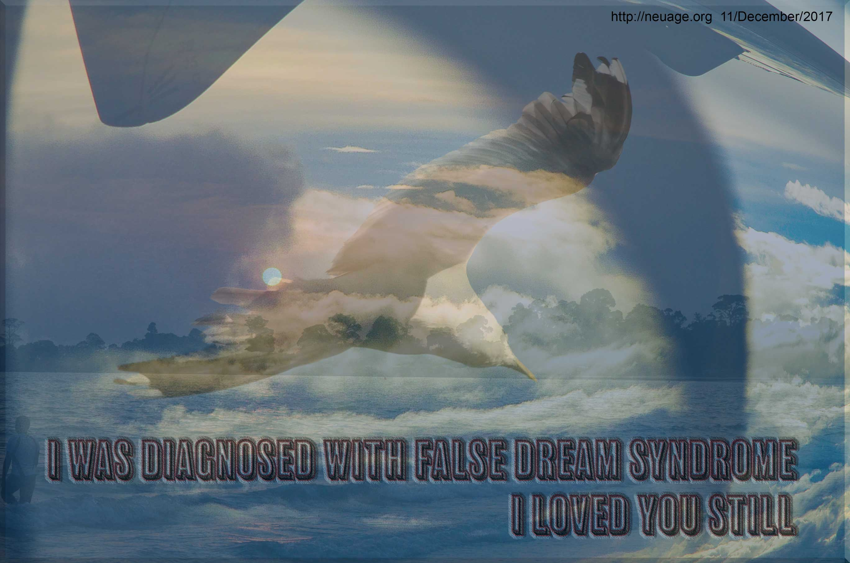 I was diagnosed with false dream syndrome I loved you still