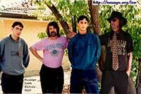with my children in 1995 - Hackham South Australia