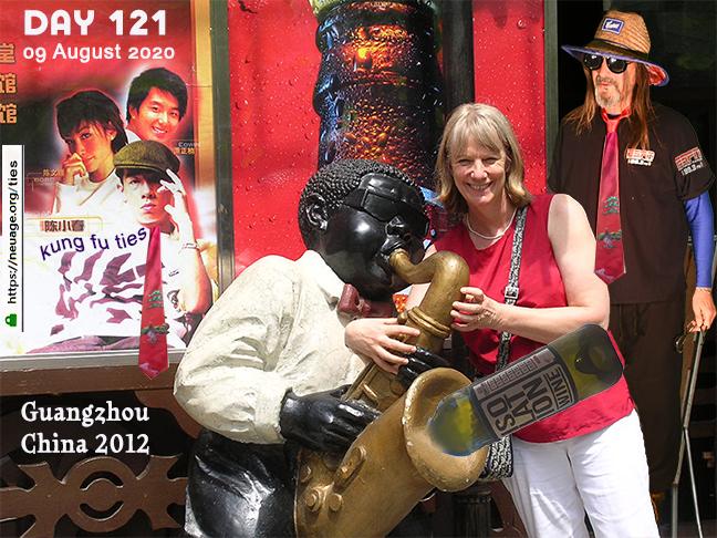 week 18 day #121 tie challenge of terrell neuage - Guangzhou, China 2012