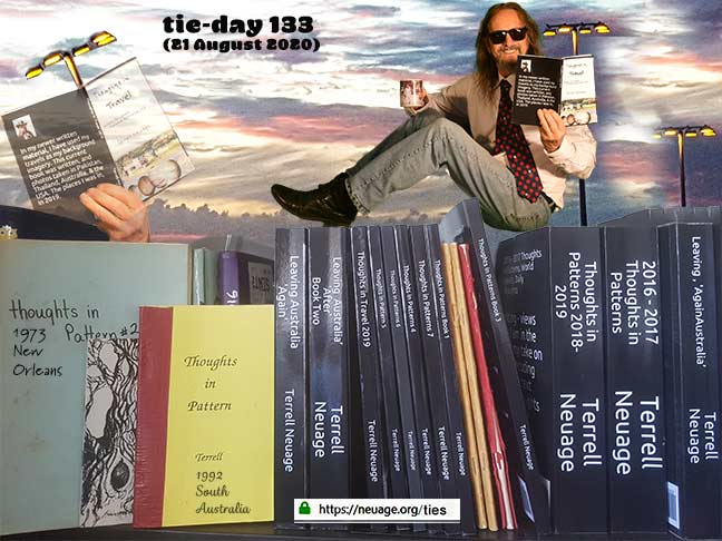 week 19 day133 tie challenge of terrell neuage
