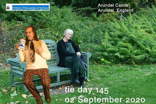 week 21 day144 tie challenge of terrell neuage