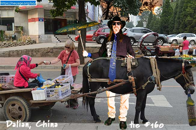 day 160 The way we did the Mid-Autumn Festival (中秋節) Dalian, China