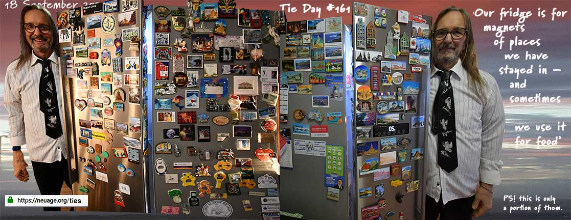 dy 161 our fridge - the rule is we have to stay at least one night in a place before we can justify another magnet for the bloody fridge