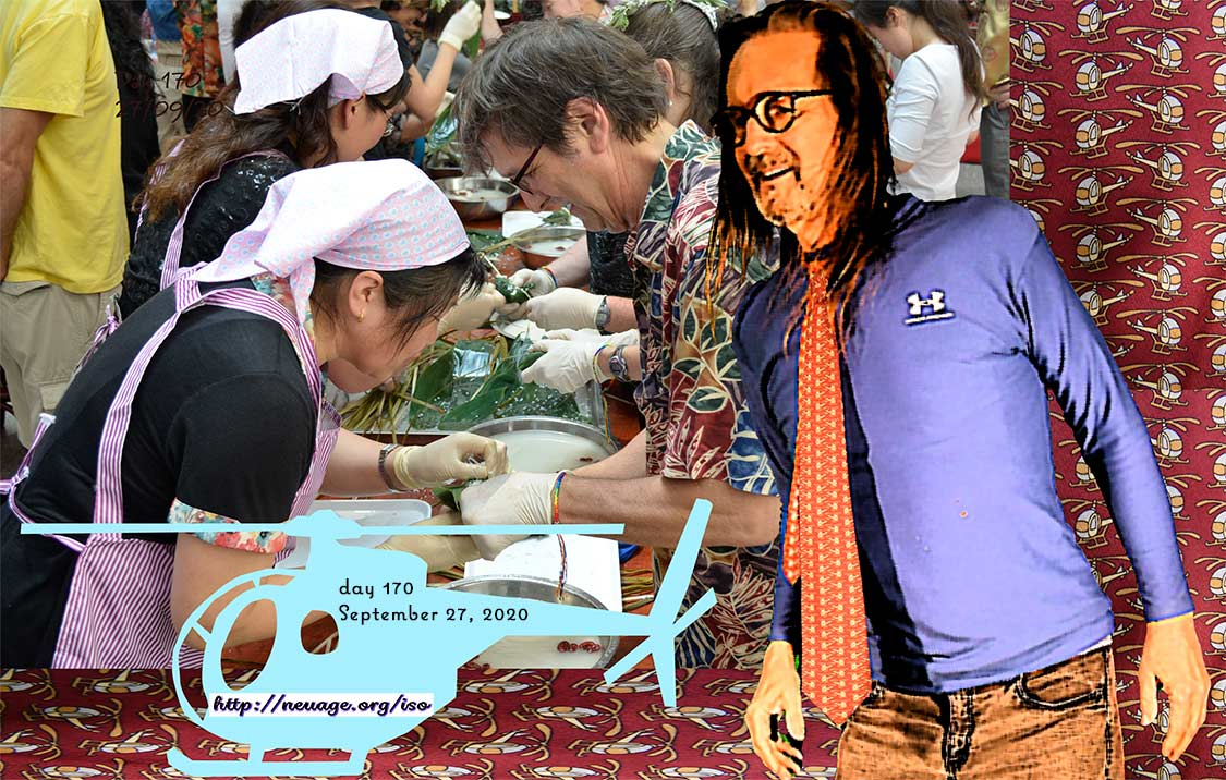day 170 Looking for the basis of life – actually a cooking class in Kaifaqu, Dalian China