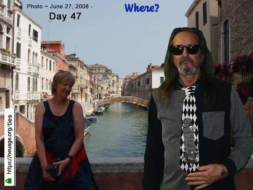 week 7  day 47 tie challenge of terrell neuage