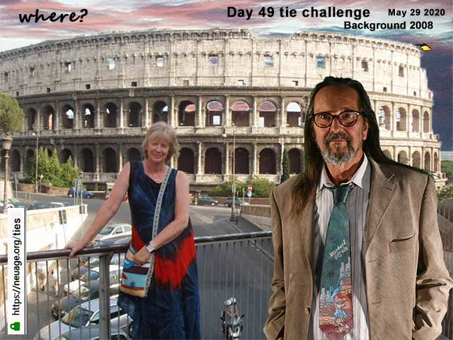 week 7  day 49 tie challenge of terrell neuage