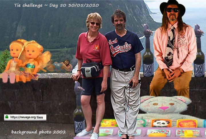 week 8 day 50 tie challenge of terrell neuage
