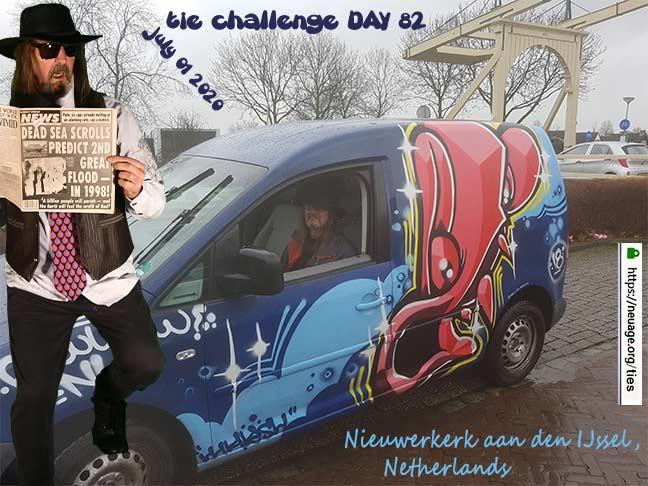 week 12 day 82 tie challenge of terrell neuage