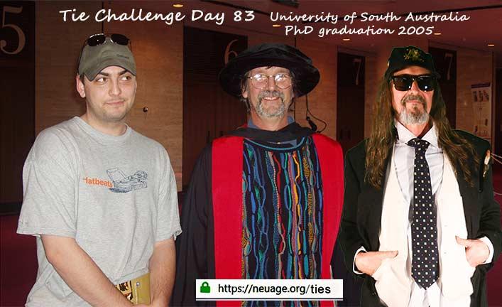 week 12 day 83 tie challenge of terrell neuage