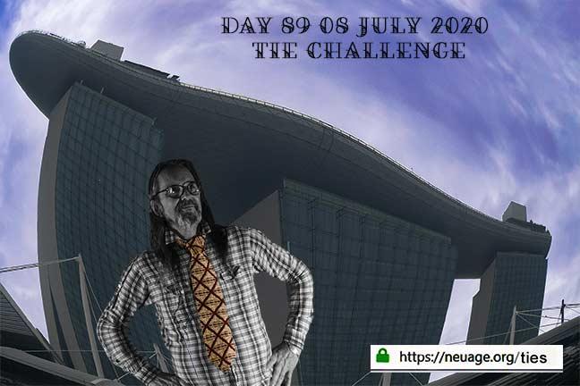 week 13 day 89 tie challenge of terrell neuage