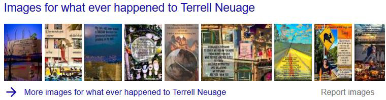 what ever happened to Terrell Neuage